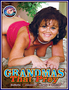 Grandmas That Prey Porn DVD
