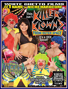 This Isn't Killer Klowns From Outer Space...It's A XXX Spoof Porn DVD