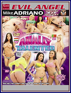 Anally Talented Porn DVD