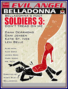 Belladonna's Foot Soldiers 3 Porn DVD