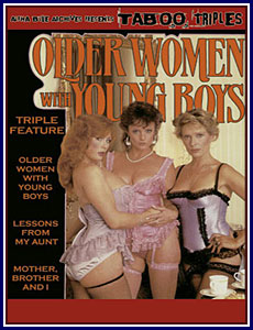 Older Women with Young Boys Triple Feature Porn DVD