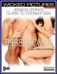 Jessica Drake's Guide to Wicked Sex: Threesomes Porn DVD