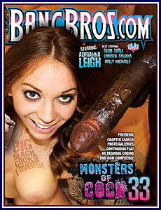 Monsters Of Cock 33 Porn DVD
