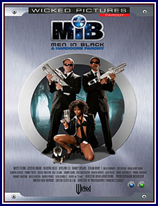 MIB Men in Black Porn DVD