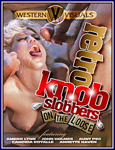 Retro Knob Slobbers on the Loose Porn DVD