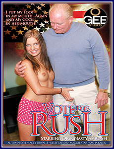 Vote For Rush Porn DVD