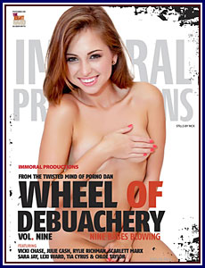 Wheel of Debauchery 9 Porn DVD