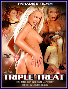 Triple Treat Porn DVD