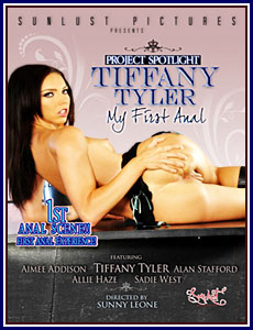 Project Spotlight: Tiffany Tyler My First Anal Porn DVD