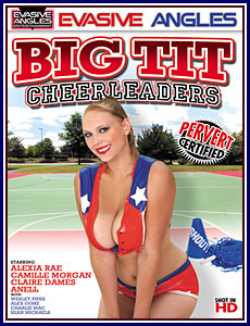 Big Tit Cheerleaders Porn DVD