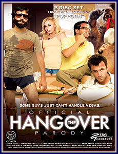 The Official Hangover Parody Porn DVD