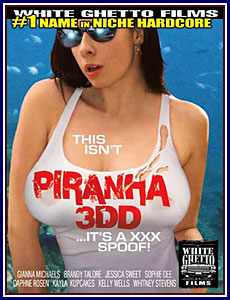 This Isn't Piranha 3DD...It's A XXX Spoof Porn DVD