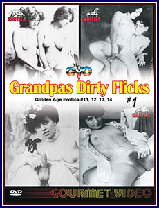 Grandpas Dirty Flicks 4 Pack Porn DVD