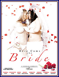 Here Cums the Bride Porn DVD