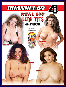 Real Big Latin Tits 4 Pack Porn DVD