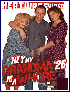 Hey My Grandma is a Whore 26 Porn DVD