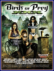 Birds of Prey XXX Porn DVD