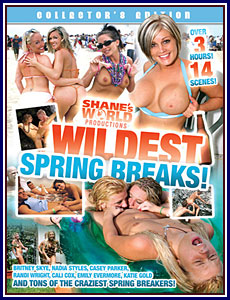 Wildest Spring Breaks Porn DVD