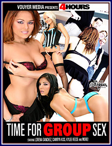 Time For Group Sex Porn DVD
