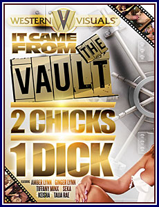 It Came From the Vault: 2 Chicks 1 Dick Porn DVD