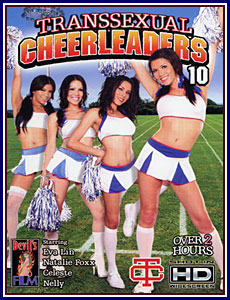 Transsexual Cheerleaders 10 Porn DVD