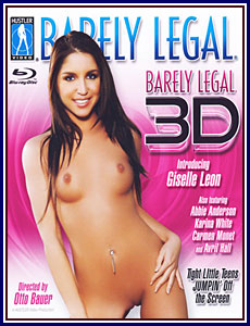 Barely Legal 3D Blu-Ray Porn DVD