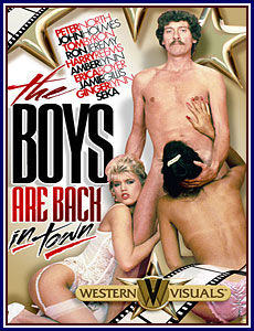 The Boys Are Back In Town Porn DVD