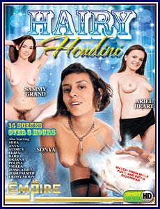 Hairy Houdini Porn DVD