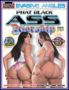 Phat Black Ass Worship Porn DVD