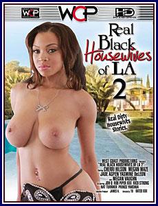 Real Black Housewives of LA 2 Adult DVD