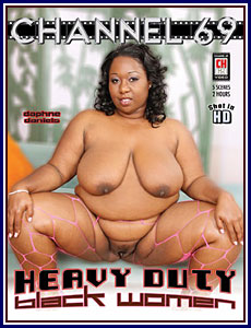 heavy black woman porn with