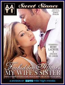 Forbidden Affairs: My Wife's Sister Porn DVD