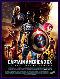 Captain America XXX: An Axel Braun Parody Porn DVD