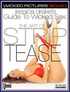 Jessica Drake's Guide to Wicked Sex: The Art of Striptease Porn DVD