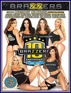 Brazzers 10th Anniversary Porn DVD