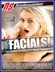 100% Facials Porn DVD