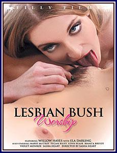 Lesbian Bush Worship Porn DVD