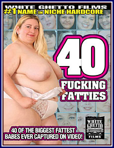 40 Fucking Fatties Box Cover Art.