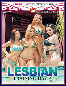 Lesbian Training Day 4 Porn DVD