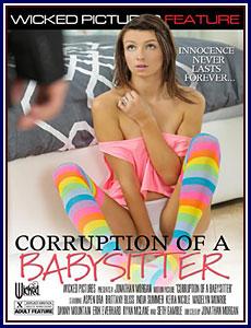 Corruption of A Babysitter Porn DVD