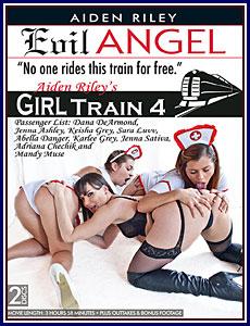 Aiden Riley's Girl Train 4 Porn DVD