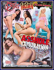 Asshole Exploration Porn DVD