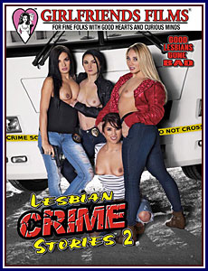 Lesbian Crime Stories 2 Box Cover Art.