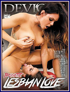 Brunette Lesbian Love Porn DVD