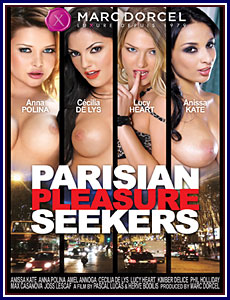 Parisian Pleasure Seekers Porn DVD