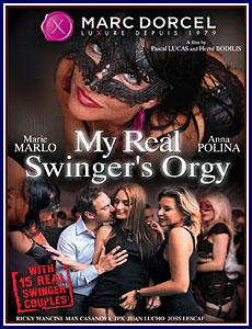 My Real Swinger's Orgy Porn DVD