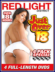 Just Over 18 4-Pack Porn DVD