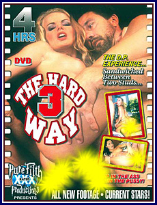 3 The Hard Way Porn DVD