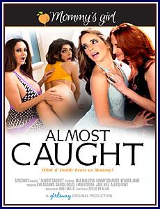Almost Caught Porn DVD
