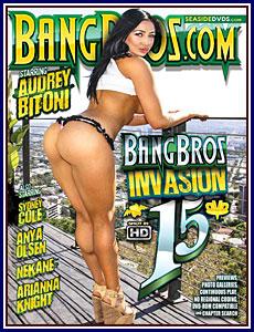 Bang Bros Invasion 15 Porn DVD